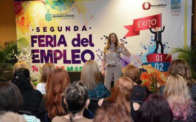 Conferencia «Atrévete a brillar», Feria del Empleo, Obregón, Sonora